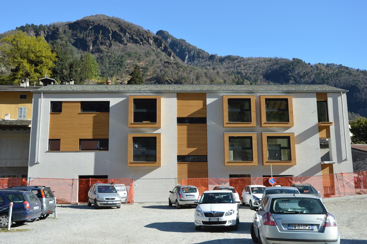 Casa alloggio disabili chiavenna architettura panzeri for Casa alloggio